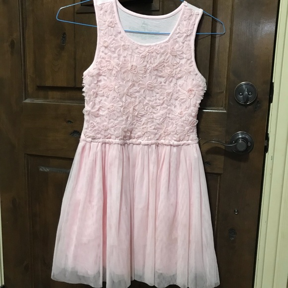 Children's Place Other - Girls Light Pink Pullover Dress. Excellent Cond.
